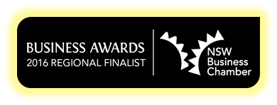 2016 Business Awards Regional Finalist